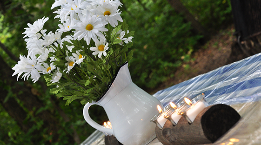 Decorate Your Campsite and Enjoy the Starry Nights & Fireflies